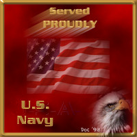 Served Proudly - U.S. Navy